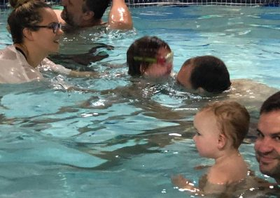 Babies and toddlers swimming classes