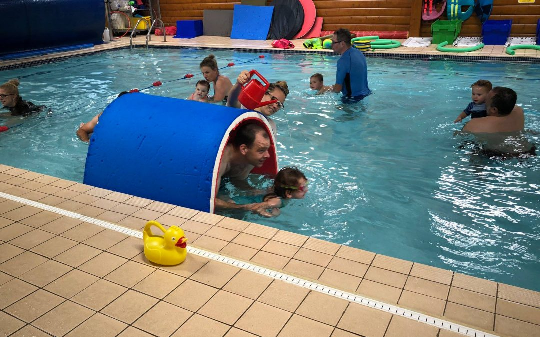 New babies and toddlers swimming classes